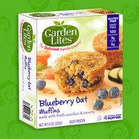 Garden Lites Blueberry Oat Muffins