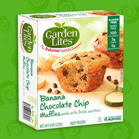 Garden Lites Banana Chocolate Chip Muffins