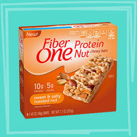 Fiber One Protein Nut Chewy Bars in Sweet & Salty Roasted Nut