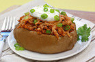 BBQ Chicken Stuffed Potato