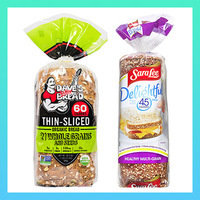 HG Bread Picks & Alternatives: Whole-Grain Bread with 60 - 80 Calories per Slice