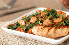 Grilled Chicken with Shrimp