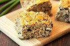 Cheesy Mushroom Oat Bake