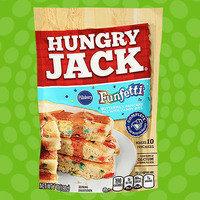 Hungry Jack Pillsbury Funfetti Buttermilk Pancake Mix with Candy Bits