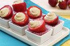 HG Food Obsessions: PB-rific Stuffed Strawberries