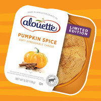 Healthy Pumpkin Products for 2017: Alouette Limited Edition Pumpkin Spice Soft Spreadable Cheese