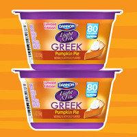 Healthy Pumpkin Products for 2017: Dannon Light & Fit Greek Pumpkin Pie Yogurt