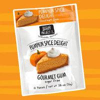 Healthy Pumpkin Products for 2017: Project 7 Seasonal Edition Pumpkin Spice Delight Sugar Free Gourmet Gum