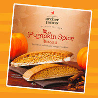Healthy Pumpkin Products for 2017: Archer Farms Limited Edition Pumpkin Spice Biscotti