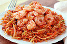 5-Ingredient-or-Less Meals in 30 Minutes Max: Shrimp 'n Slaw Marinara