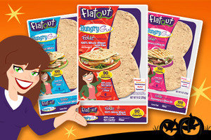A Calorie-Conscious Bread Lover's BFF: Flatout Exclusive Hungry Girl Foldit Flatbreads