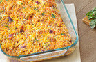 Hungry Girl Veggie Swap: BBQ Chicken & Cauli' Rice Casserole