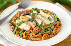 Hungry Girl Veggie Swap: Z'paghetti alla Vodka with Chicken