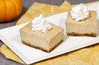 Top HG Pumpkin Recipes: The Great Pumpkin Cheesecake Bars