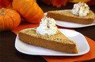 Upside-Down Pumpkin Pie