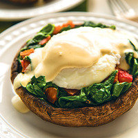 Hungry Girl Obsessed! Perfect Portabella Benedict