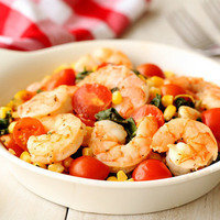 Weeknight Mega Meals: Mediterranean Shrimp & Veggies