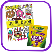 HG Holiday Gift Guide: Junk Food Coloring Book