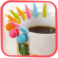 HG Holiday Gift Guide: Snail Shape Tea Bag Holder Gift Set