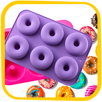 HG Holiday Gift Guide: KLEMOO 2-Pack Donut Silicone Baking Pan