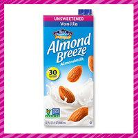 Lisa's Kitchen Staples: Unsweetened Vanilla Almond Breeze