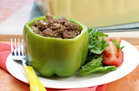 EZ Multi-Serving Meal: Philly Cheesesteak Stuffed Peppers