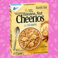 Limited Edition Banana Nut Cheerios