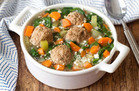 Healthy HG Soup Recipes: Italian Wedding Soup with Cauliflower Rice