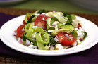 Healthy Foods That Supersize: Zucchini-Ribbon Salad