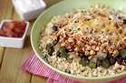 Healthy Foods That Supersize: Sofritas Cauliflower Rice Bowl