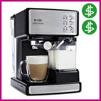 SPLURGE: Mr. Coffee Café Barista Espresso & Cappuccino System
