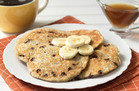 5-Ingredient Banana-Chocolate Pancakes