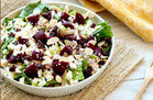Make-Ahead Must Have: Beets Me Shredded Chicken Salad