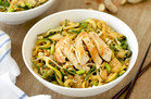Veggie-Based Carb Swap: Easy-Peasy Peanut Zucchini Noodles with Chicken