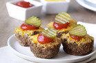 Cheeseburger Mini Meatloaves