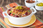 Bacon Cheeseburger Chili