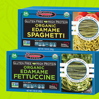 Seapoint Farms Gluten Free High Protein Organic Edamame Spaghetti and Fettuccine