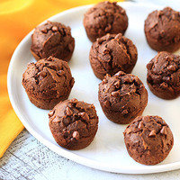 Two-Ingredient Recipes: Mini Yum Yum Brownie Muffins