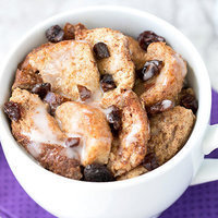 HG's Healthy Made-in-a-Mug Bread Pudding for One Recipe