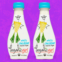 Organicgirl Fresh Designer Dressing in White Cheddar Ranch Style Vinaigrette