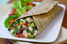 Mexi' Shrimp Salad Wrap