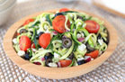 "Zucchini-Noodle ""Pasta"" Salad"