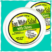 Trader Joe's Egg White Salad with Chives