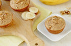 Healthy Make-Ahead Snack Recipe: Banana Walnut Blender Muffins