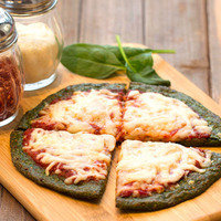 Hungry Girl's Healthy Spinach Crust Pizza Recipe
