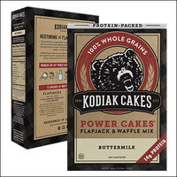 Featured on Shark Tank: Kodiak Cakes Power Cakes Protein-Packed Flapjack & Waffle Mix in Buttermilk