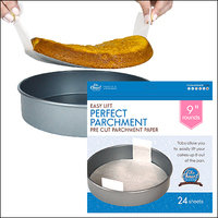 Featured on Shark Tank: The Smart Baker Easy Lift Perfect Parchment Pre Cut Parchment Paper
