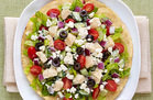 Hungry Girl's Healthy Greek Salad Tostada Recipe