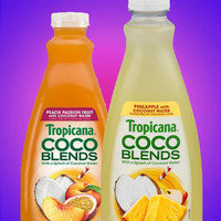 Tropicana Coco Blends with a Splash of Coconut Water