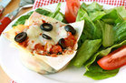Healthy Pizza Recipes Under 300 Calories: Pizza Cupcakes